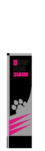 Drop Flag 3m50