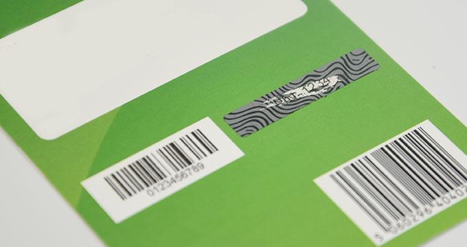 Impression cartes à gratter en papier carton Grands formats