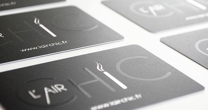 Exceptionnel Impression de Cartes de Visite PVC I 20 Options I Pixoo-Print VB04