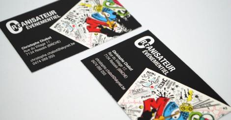 Cartes De Visite Double